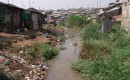 6-River of raw sewage in Mathare Valley Slum